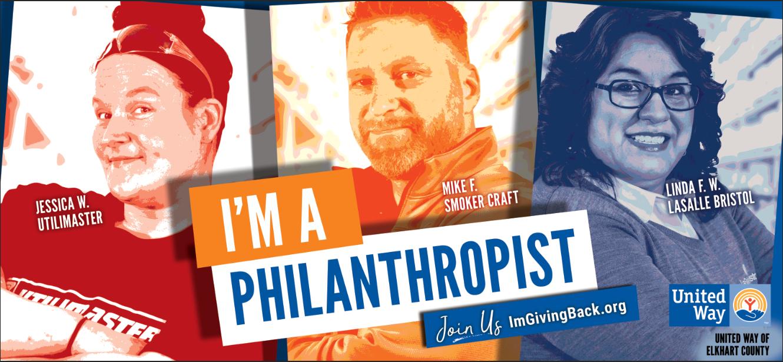 I'm A Philanthropist