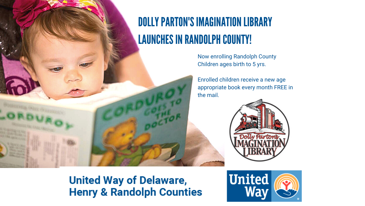 Dolly Parton's Imagination Library Launches in Randolph County