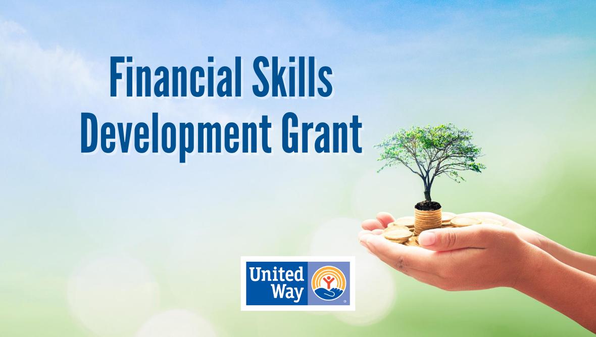 Donate to the Financial Skills Development Grant