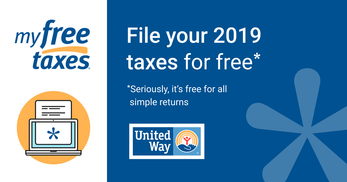 United Way partners with H&R Block to provide free tax filing.