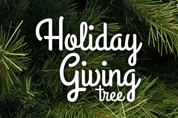 Spread cheer with the Holiday Giving Tree!