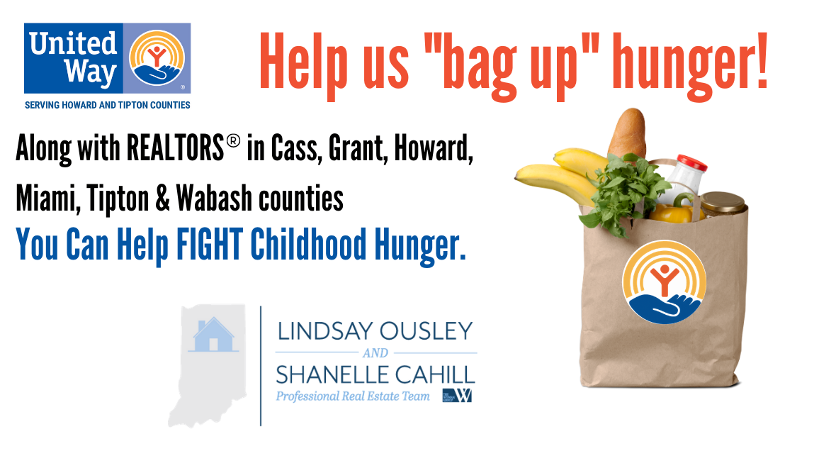 """The Ousley & Cahill Real Estate Team """"Realtors Bag Up Hunger Campaign"""""""