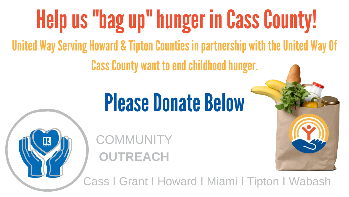 REALTORS BAG UP HUNGER CAMPAIGN 2020 CASS COUNTY