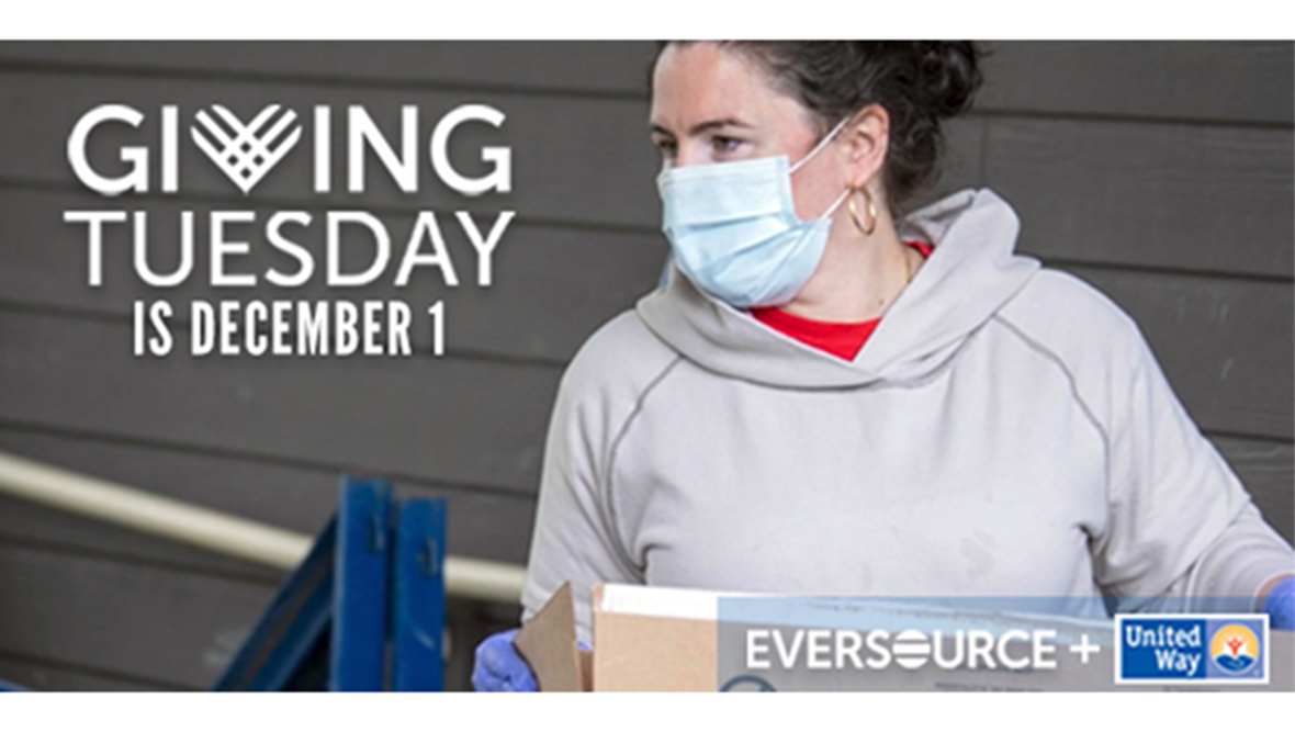 GivingTuesday 2020: Powered by Eversource