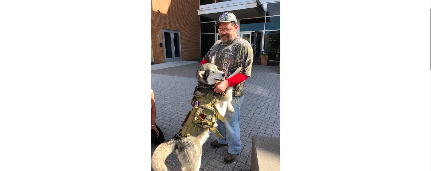 Greg's Story:  Veteran Service Dog Program Changes Everything