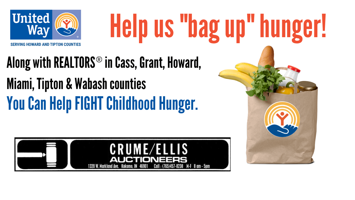 "Crume Ellis Auctioneers ""Realtors Bag Up Hunger Campaign"""